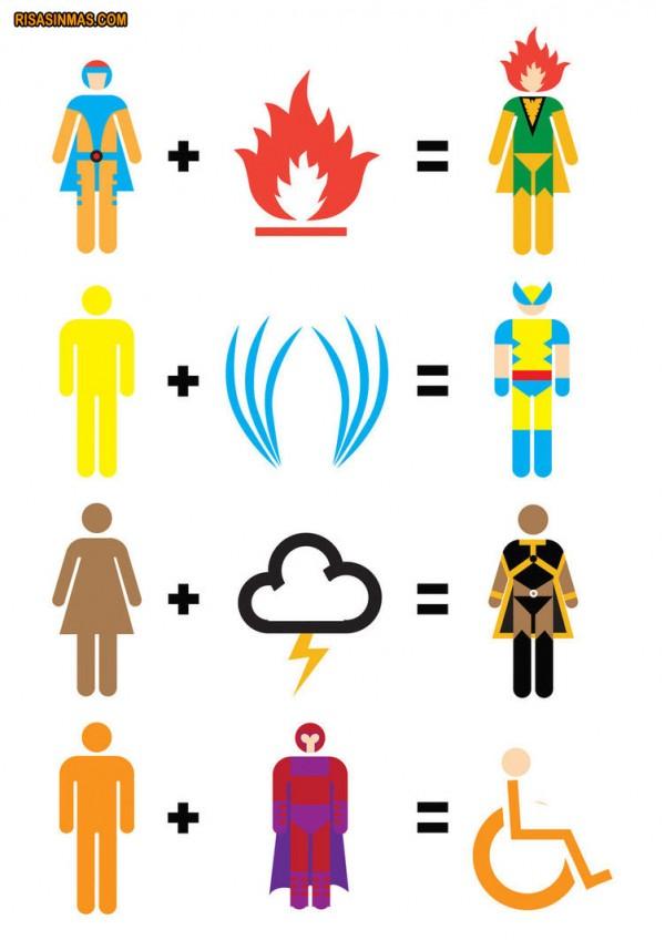 Fórmulas matemáticas de X-men