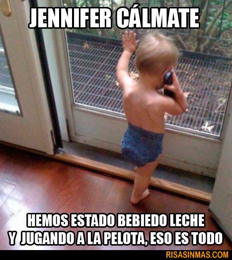 Jennifer, cálmate...