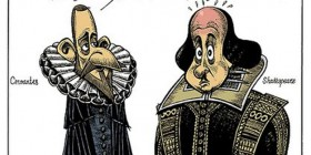 Charla entre Cervantes y Shakespeare