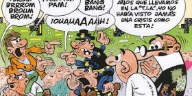 Mortadelo y Filemón y la crisis