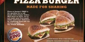 ¡La nueva Pizza burger!