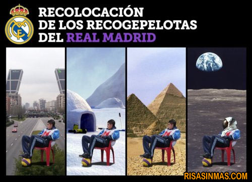 Recogepelotas del Real Madrid