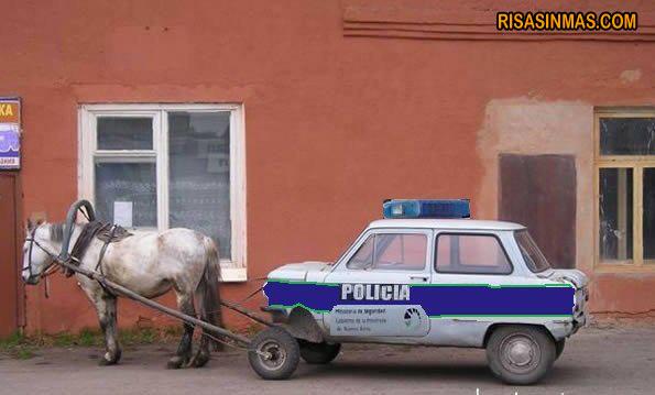 Los recortes llegan a la policía