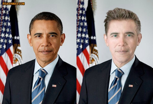 Si Obama fuera blanco