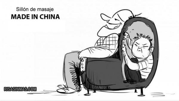 Sillón de masaje Made in China