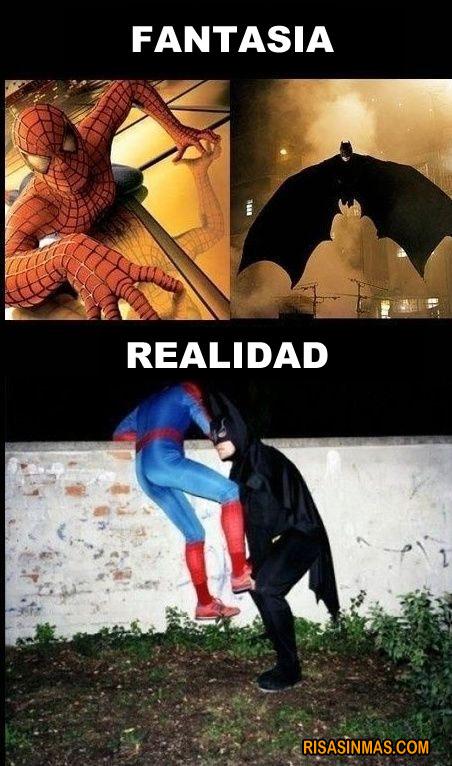 La realidad de los superhéroes