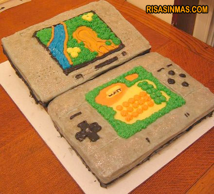 Tarta Nintendo DS