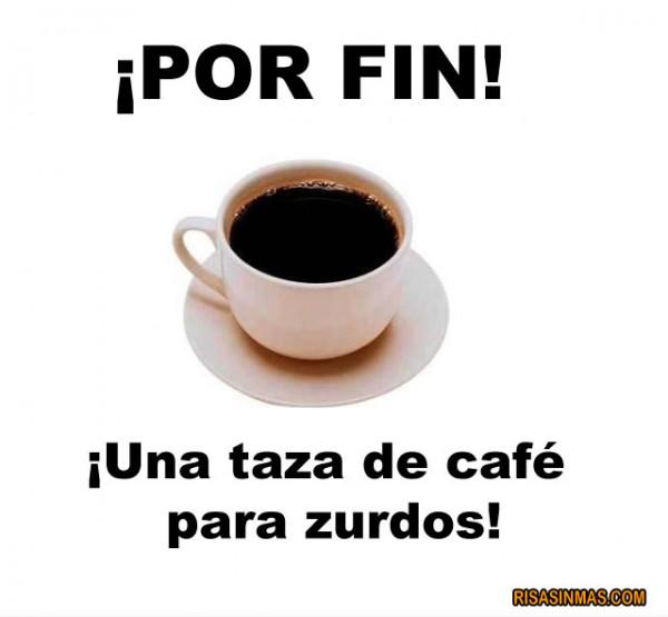 ¡Por fin, una taza de café para zurdos!