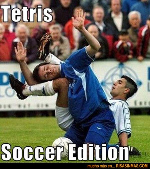 Tetris edición fútbol