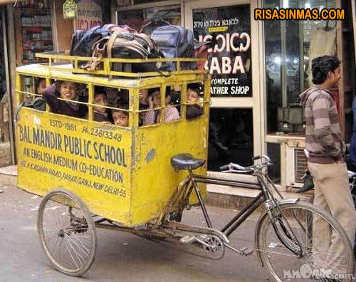 Transporte escolar ecológico