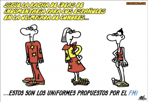 Uniformes España Olimpiada Londres 2012