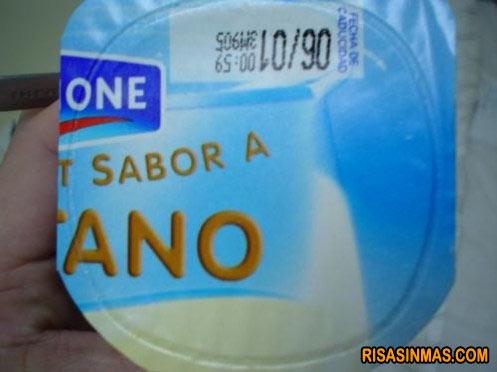 Yogur sabor a...