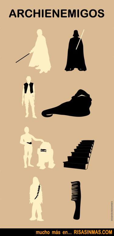 Archienemigos de Star Wars