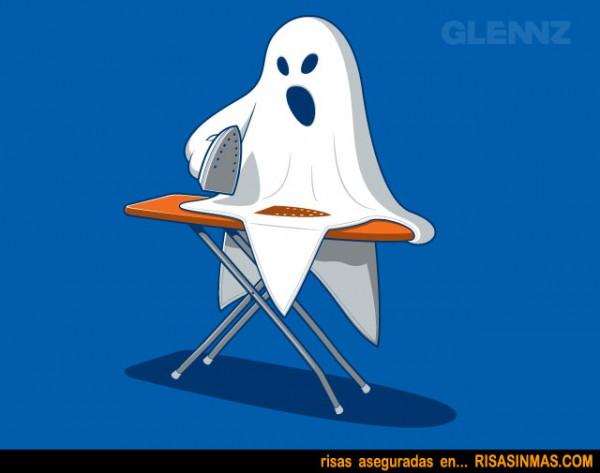 Fantasma planchando