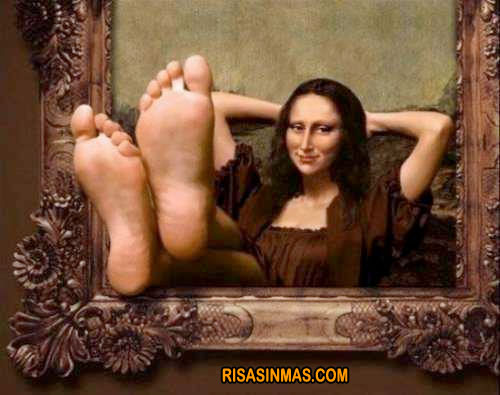 Mona Lisa descansando