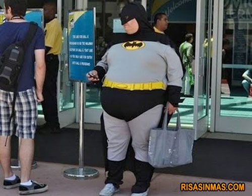 ¿Batman o Fatman?