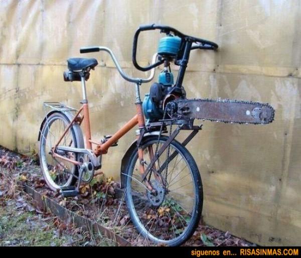 Bicicleta modelo La matanza de Texas