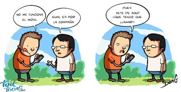 Falla la cobertura del móvil