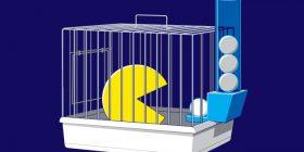 Pac-Man enjaulado