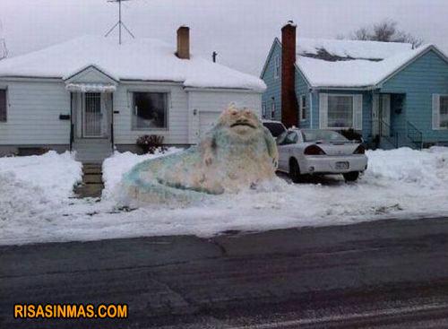 Cuando nieva...