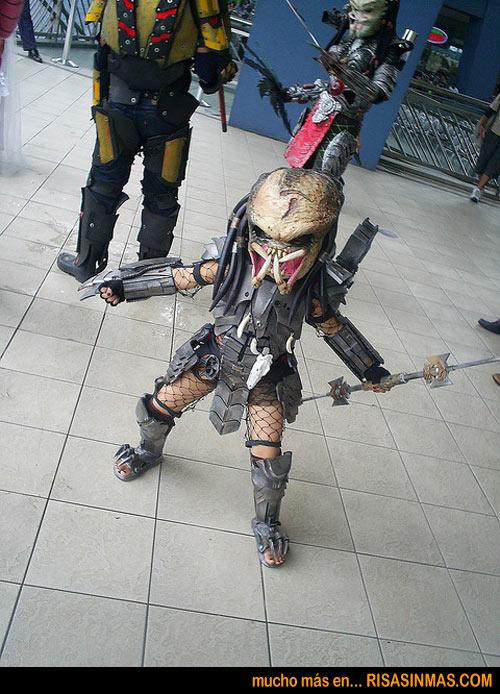 Disfraz de mini Predator