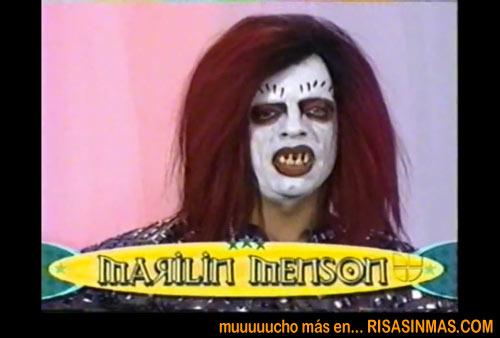 Doble perfecto de Marilyn Manson