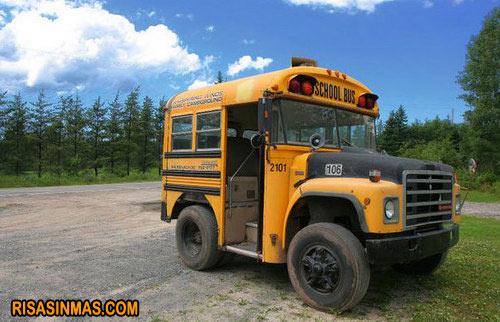 El autobus más pequeño del mundo