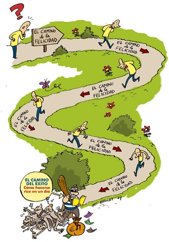 El camino de la felicidad