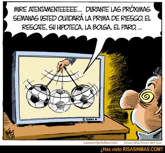 Acertijos semanales: El resultado de un controvertido partido de fútbol de la liga infantil  Futbol-hipnotico