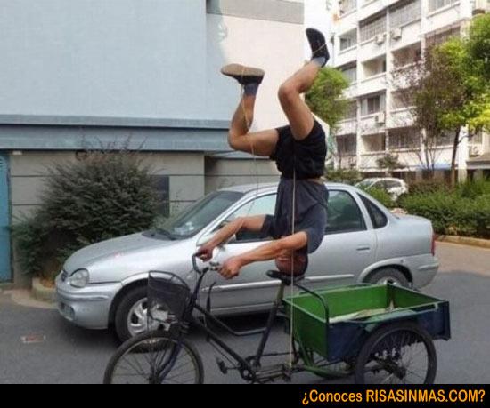 Ir en bicicleta nivel 100