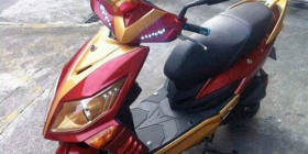 La moto de Iron Man