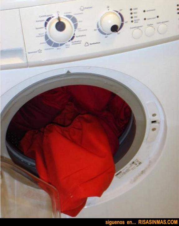 Lavadora muy expresiva