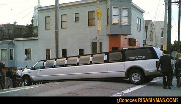 Una limusina en San Francisco