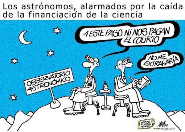 Los astrónomos