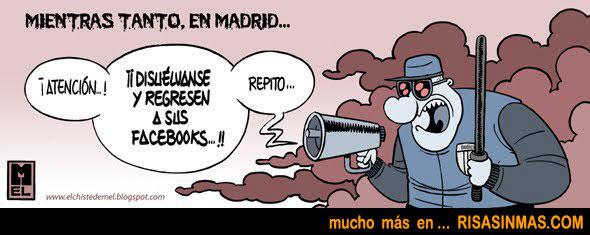 Mientras tanto en Madrid...