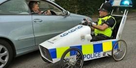 Nuevos coches de la policía británica
