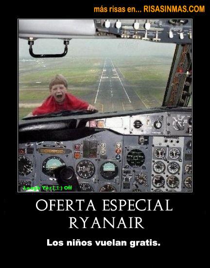 Oferta especial Ryanair