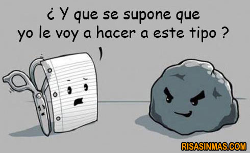 Papel vs Piedra