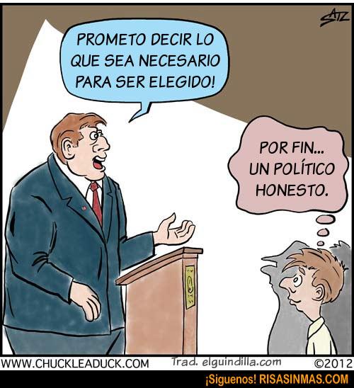 Un político honesto