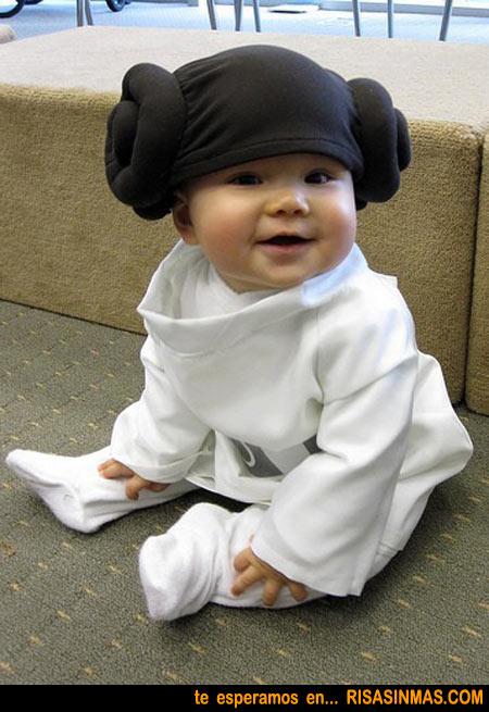 Princesa Leia de bebé