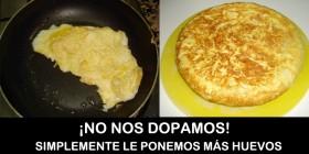 Tortilla francesa vs Tortilla española