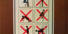 Usos incorrectos del baño