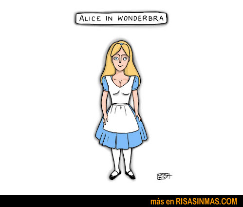 Alice in Wonderbra