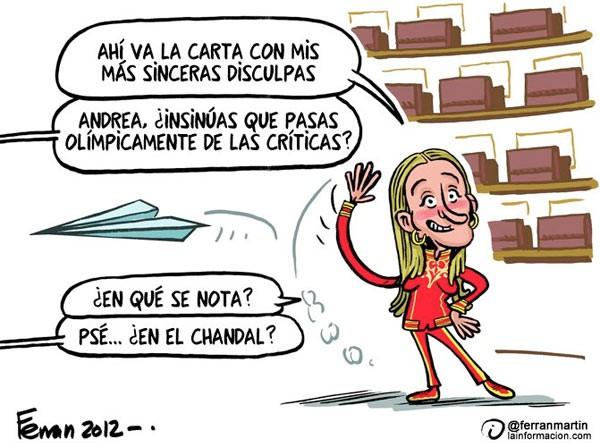 Andrea Fabra olímpica