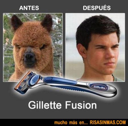 Antes y después de un buen afeitado
