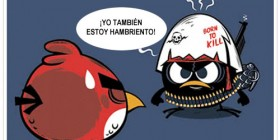 Calimero quiere ser un Hangry Birds