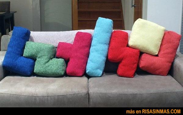 Cojines Tetris