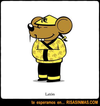 ¿Cómo se dice ratón en chino?