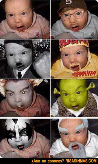 El bebé de las mil caras