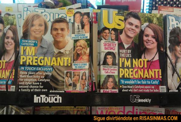 Embarazo sospechoso